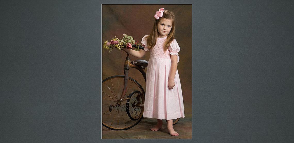 before child classic portrait