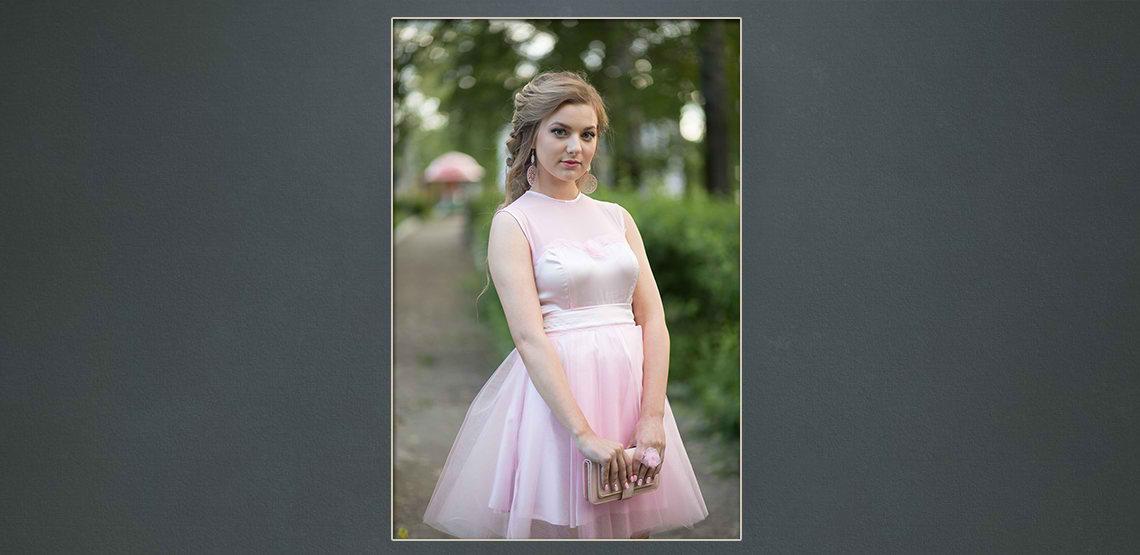 before female digital portrait