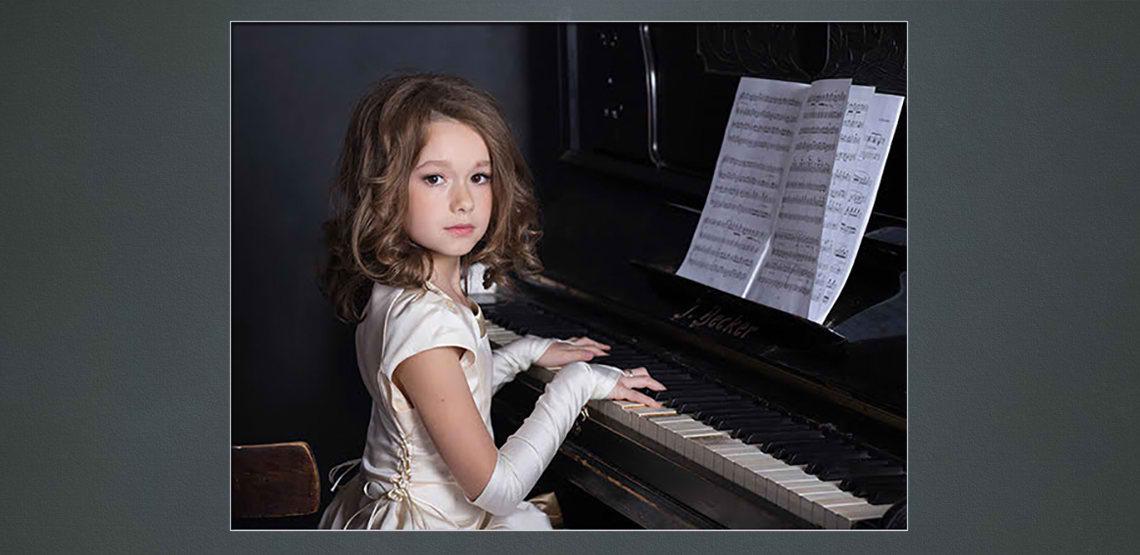 before child modern portrait